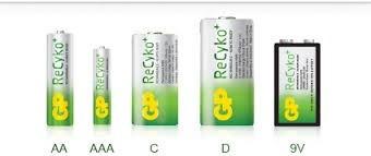 cargador d pilas gp recyko incluye 4 recargable 2 aa y 2 aaa