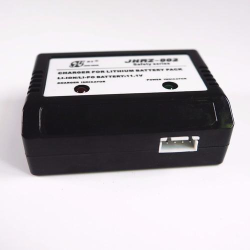 cargador de 11.1v para drones coches baterias 3s 2 salidas