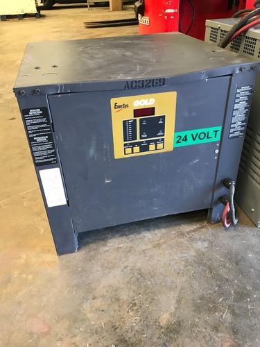 cargador de 24vdc para baterías de montacargas y otros