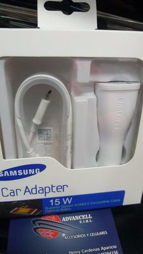 cargador de auto samsung original doble