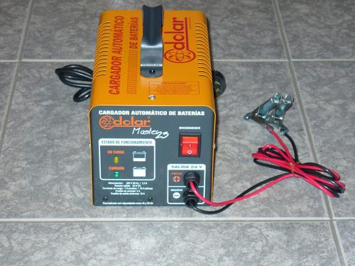 cargador de batería 24 v automático de flote master 23 dolar