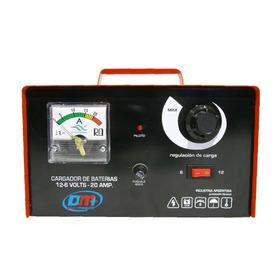 Cargador De Bateria 6-12 Volts 20 Amp. Industria Argentina