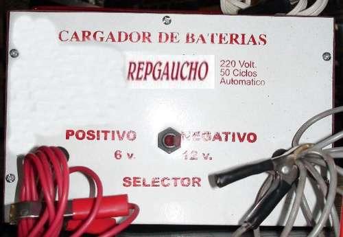 cargador de bateria  6 y 12 volt  10 amper hora