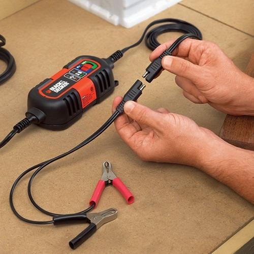 cargador de bateria black and decker y stanley