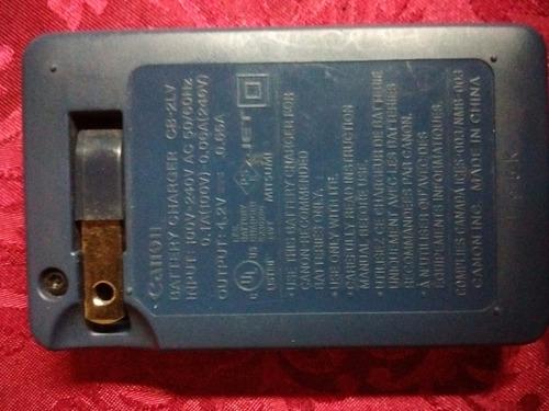 cargador de batería canon original..!! modelo cb-2lv