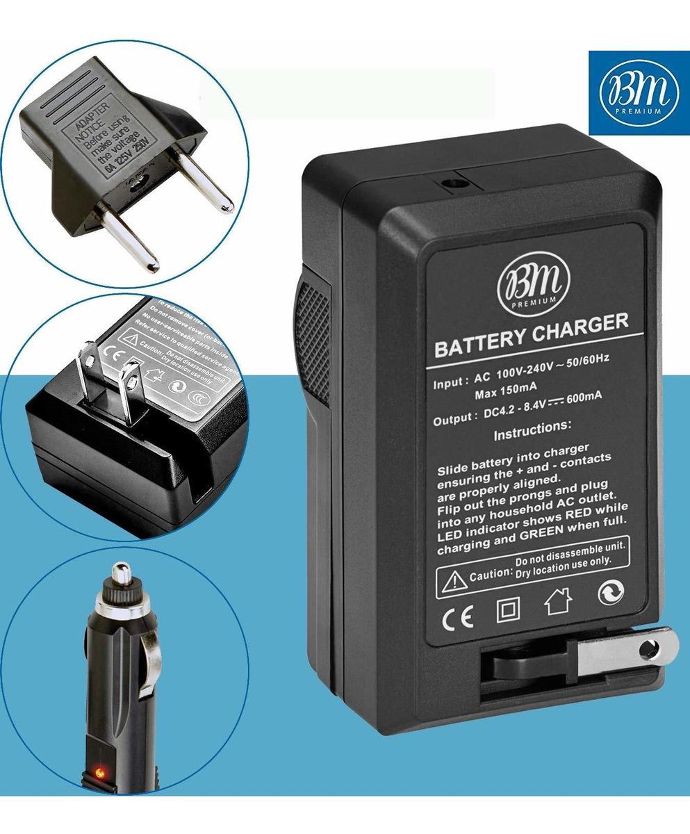 Cargador de batería de alimentación para Panasonic Lumix dmc-fz28k