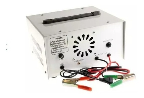 cargador de bateria de 12v y 24v 40ac