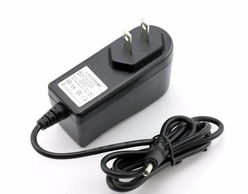 cargador de batería de litio 8.4v 1a