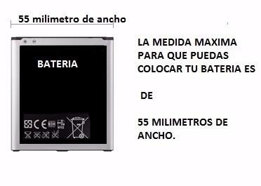 cargador de bateria externo universal blu, huawei,lg, otros