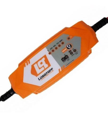cargador de bateria mantenedor auto 12 inteligente c pinzas