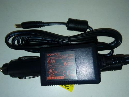 cargador de bateria para coche sony