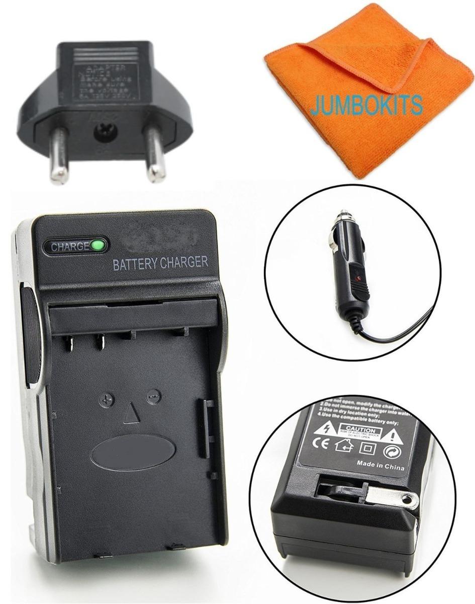 Micro USB Cargador para Panasonic Lumix DMC-FX33//DMC-FX35