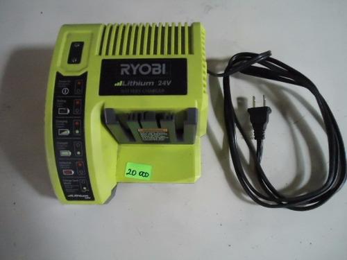 cargador de bateria ryobi 24v modelo: op140
