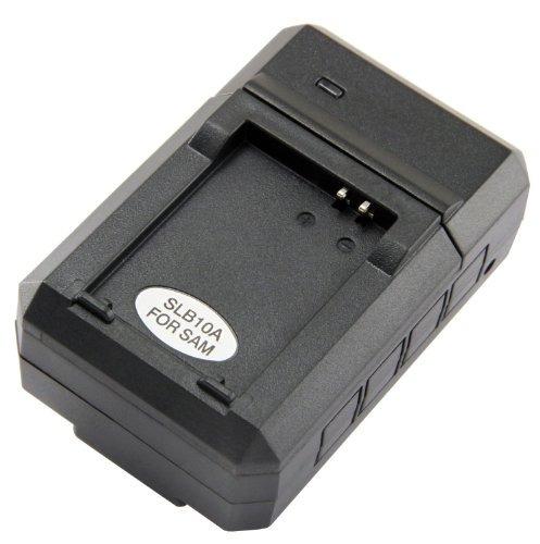 cargador de batería samsung slb-10a de stk para cámaras digi