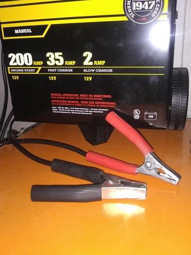 cargador de batería schumacher 200amp 35amp 2amp carga lenta