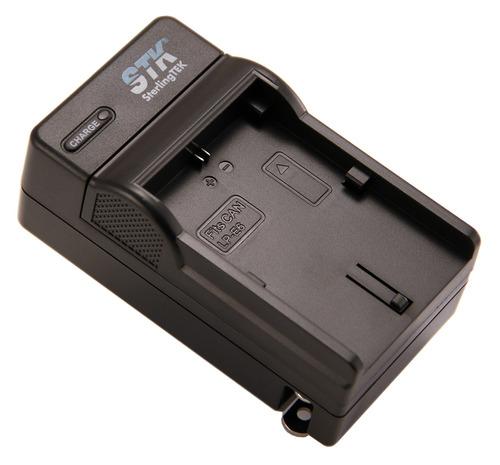 cargador de batería stk lp-e6 para canon eos 5d mark ii iii