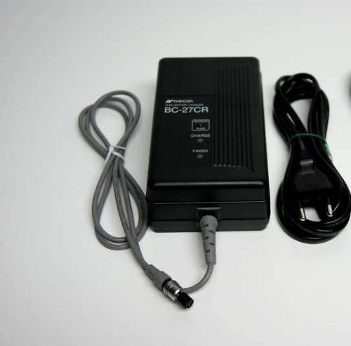 cargador de bateria topcon bc-27cr nuevo topcon original