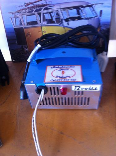 cargador de baterías 10 amp.