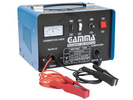 cargador de baterias 10 amp. auto moto embarcaciones