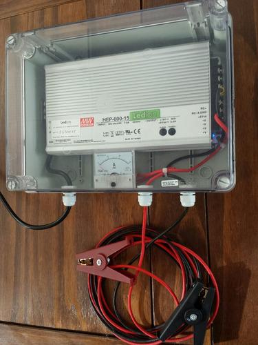 cargador de baterías 12v 36amp para autos alta gama ledion