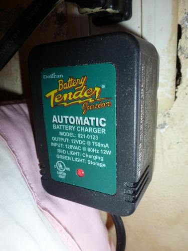 cargador de baterias 12v battery tender junior 021-0123 12