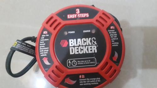 cargador de baterias 12v. black and deker