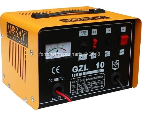 cargador de baterias 6v/12v - 10amp - mosay / ferrenet