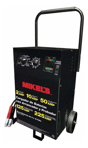 cargador de baterias / arrancador 2 a 225 amp / 6 y 12 volts