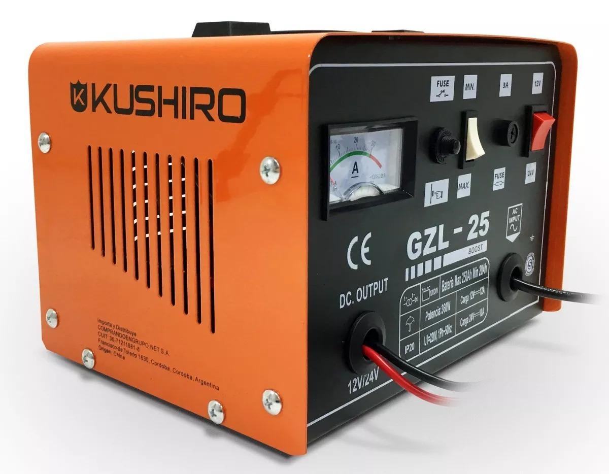 e7a6d4dff04 Cargador De Baterias Auto Kushiro 25 Amp 12v/24v - $ 3.269,00 en ...