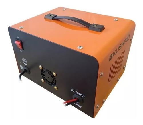 cargador de baterias auto moto 40 amp 12v 24v transformador