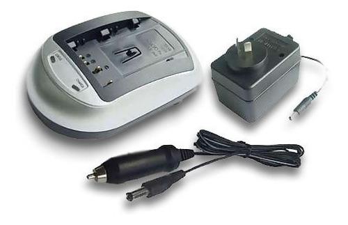 cargador de baterias canon bp-808 bp-819 hf10, hf100.