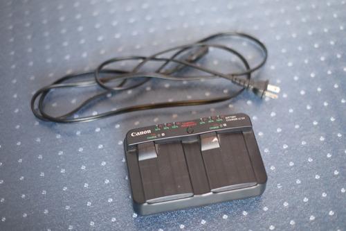cargador de baterias canon lc-e4 para eos 1 d mark iii/iv/x