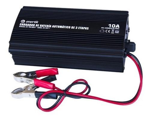 cargador de baterías de 24v. capacidad de carga 10a
