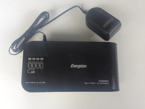 cargador de baterias energizer aa aaa c d 9v nimh original