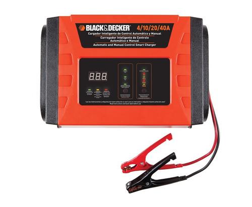 cargador de baterías inteligente 40amp back & decker