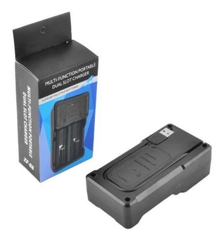 cargador de baterias li-ion aa aaa batería / soy tienda