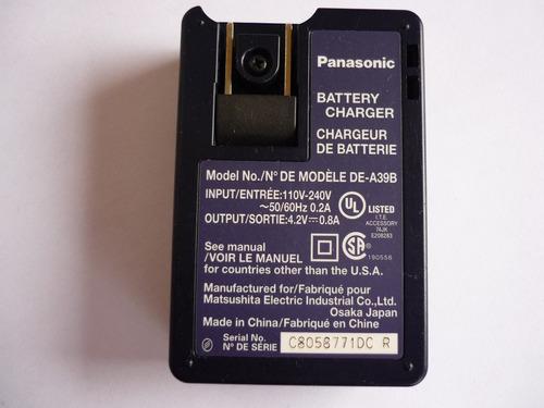cargador de baterias lumix de-a39 panasonic