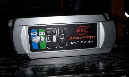 cargador de baterias marca  evi