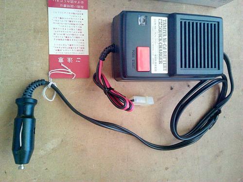 cargador de baterias marca tamiya para carros r/c