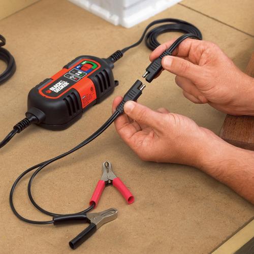 cargador de baterias para carro black & decker 12 y 6 volts
