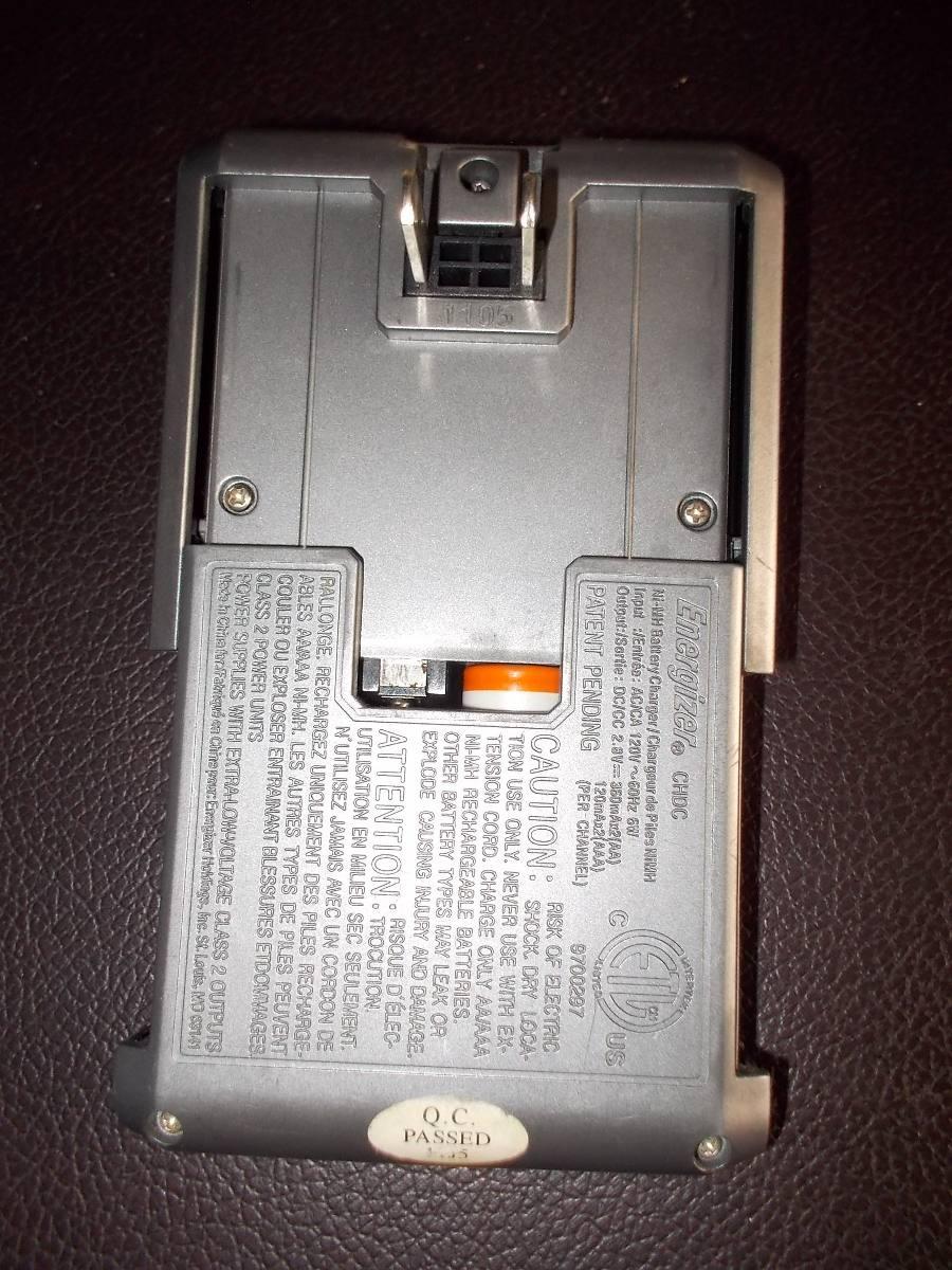 Cargador de baterias pilas recargables energizer 150 - Cargador pilas recargables ...