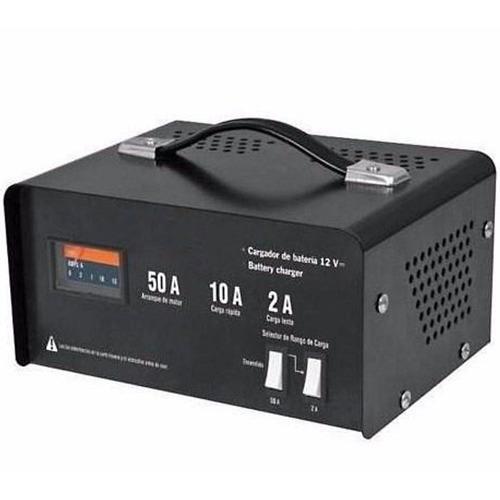 cargador de baterias portatil 12 v 50 amperes 13027