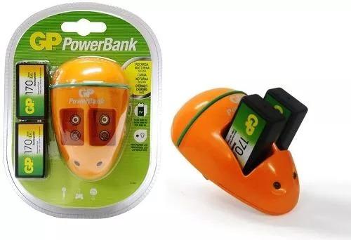 cargador de baterias recargables 9v