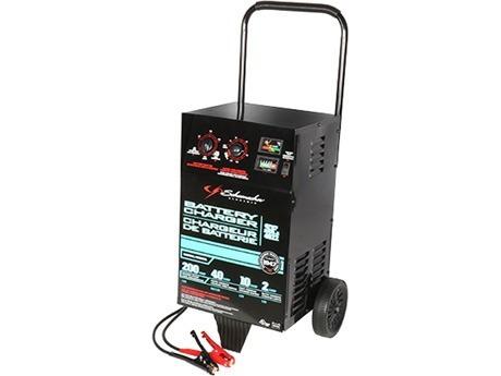 cargador de baterias schumacher se-4022 200a/40a/10a/2a