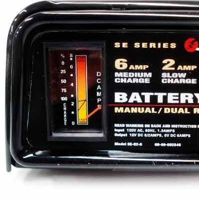 cargador de bater as schumacher se 82 6 dual rate 2 6 amp rh articulo mercadolibre com mx Schumacher Battery Charger Amp 2 Schumacher SE-82-6 Electrical Schematics