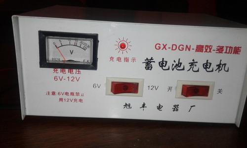 cargador de baterias secas de 6 y 12 voltios