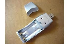 cargador de baterías usb aa aaa cod3130 asch