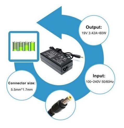 cargador de ca del ordenador portátil para acer aspire one z