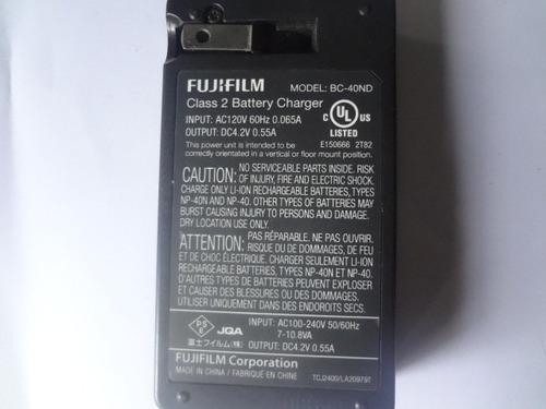 cargador de camara fujifilm bc-40nd 100% funcional