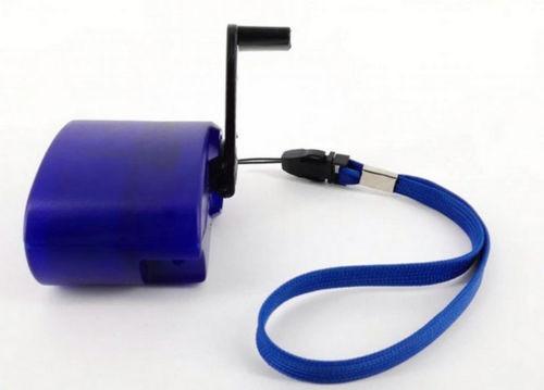 cargador de celular de emergencia dinamo